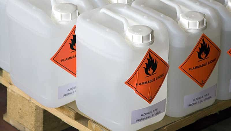 شرایط نگهداری مواد شیمیایی و سموم